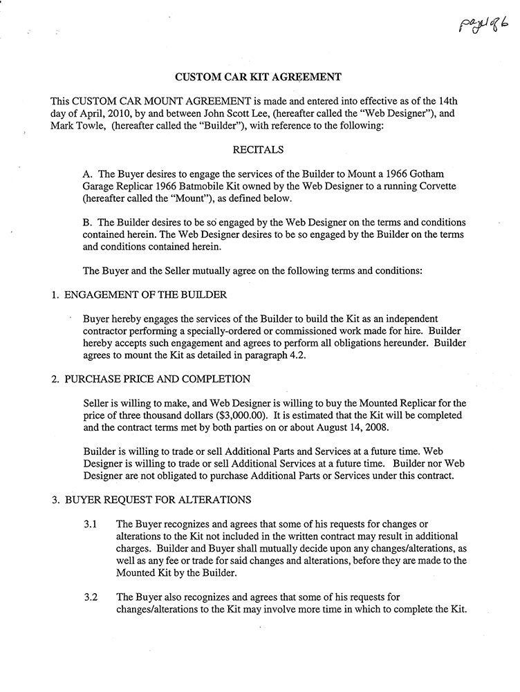 Contract 2 page 1